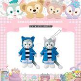 ( 現貨 & 樂園實拍 ) 日本 東京迪士尼限定 達菲家族 畫家貓 gelatoni 休閒風 別針珠鍊吊飾玩偶