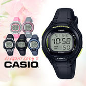 CASIO手錶專賣店   CASIO_LW-203-1B 橡膠錶帶 橡膠玻璃 50米防水 全新品