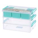 【TO HOUSE】手提連結盒 小物盒 分類 零件盒
