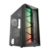 全漢 CMT211B 黑 顯卡長32/CPU高16/4風扇/ARGB燈條網孔面板/玻璃透側/ATX