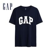 Gap男裝棉質舒適Logo短袖T恤471777-海軍藍