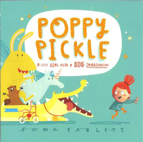 POPPY PICKLE /英文繪本《主題:想像》