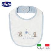 chicco-小王子熊熊毛巾布圍兜