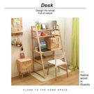 諾雅度-原生實木書架桌/書桌 4553T【多瓦娜】