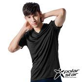 PolarStar 男排汗快乾T恤 黑色 P15137