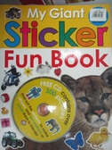 【書寶二手書T9/少年童書_XBB】My Giant Sticker Fun Book_Not Available (N
