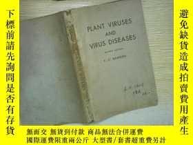 二手書博民逛書店PLANT罕見VIRUSES AND VIRUS DISEASE