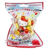 〔小禮堂〕Sanrio大集合 造型入浴球《6款隨機.紅.樂隊》入浴劑.泡澡球 4901610-20316