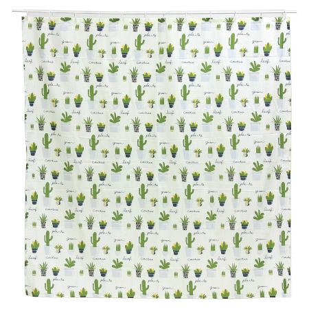 浴簾 CACTUS 180×180 NITORI宜得利家居