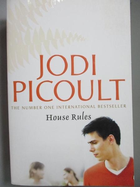 【書寶二手書T6/原文小說_NMA】House Rules_Jodi Picoult