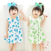 女童連身裙女童連身裙嬰幼兒0棉質洋氣公主裙3歲2女小寶寶夏裝1兒童裝裙子夏(1件免運)