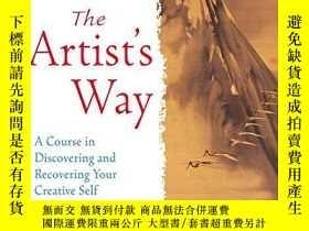 二手書博民逛書店The罕見Artist s Way: A Course in D