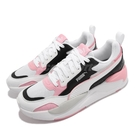 Puma 休閒鞋 X-Ray 2 Square 白 粉紅 黑 老爹鞋 女鞋 運動鞋 【ACS】 373108-30