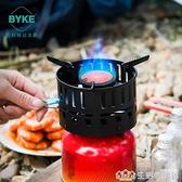 戶外防風便攜瓦斯氣爐燒水泡茶野營野外野炊爐具火鍋爐頭裝備用品NMS【樂事館新品】