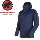 【MAMMUT 男 Chamuera SO Thermo Hooded 連帽化纖外套 《藍》】1010-24850/化纖外套★滿額送