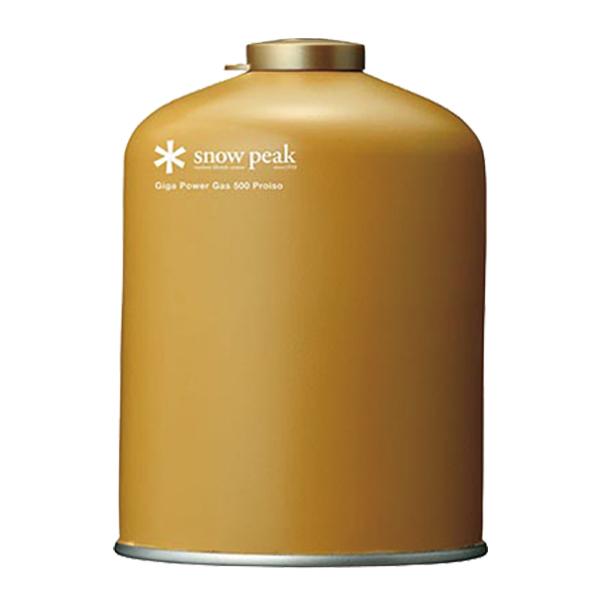 [Snow Peak] 高效能瓦斯500(GP-500GR) 秀山莊戶外用品旗艦店