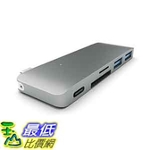 [105美國直購] Satechi Type-C 灰色 集線器 USB 3.0 3 in 1 Combo Hub for MacBook 12-Inch