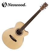 Neowood嚴選Swiftly SF-1C AB級雲杉木吉他-附琴套