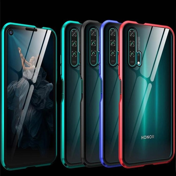 【雙面玻璃】華為 Nova 5t Huawei Nova5t 萬磁王三代 鋼化玻璃 金屬框架 全包邊 磁性殼