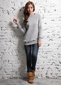【BTIS】女長版針織衫 麻灰色