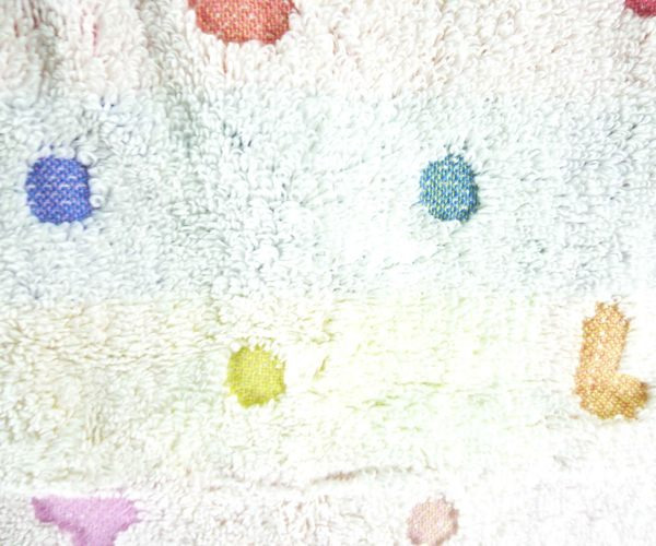 【震撼精品百貨】Hello Kitty 凱蒂貓~長毛巾~彩色英文
