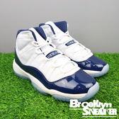 NIKE AIR JORDAN 11 (GS) WIN LIKE '82  白藍 大童鞋 女鞋  (布魯克林) 2017/1月 378038-123