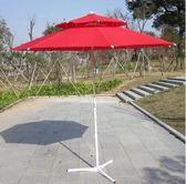 戶外遮陽傘 大傘擺攤傘庭院傘沙灘傘廣告傘定制定做雙頂傘igo 西城故事