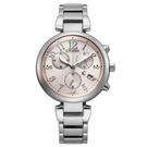 CITIZEN 星辰 光動能時尚三眼計時手錶 FB1450-53W