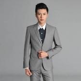 西裝套裝含西裝外套+褲子-嚴選典型職業成套男西服3色6x55【巴黎精品】