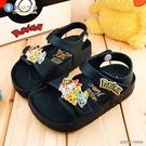 童鞋城堡-兒童輕量涼鞋 寶可夢 PA3585-藍
