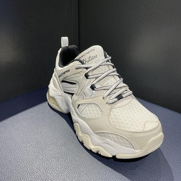 SKECHERS D LITE 3.0 AIR 女款 厚底 老爹鞋 休閒鞋 米白 149261OFWT