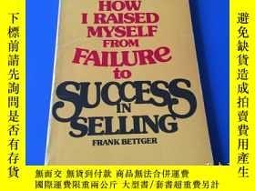 二手書博民逛書店How罕見I raised myself from failur
