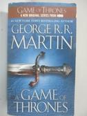 【書寶二手書T1/原文小說_BX8】A Game of Thrones_Martin, George R. R.
