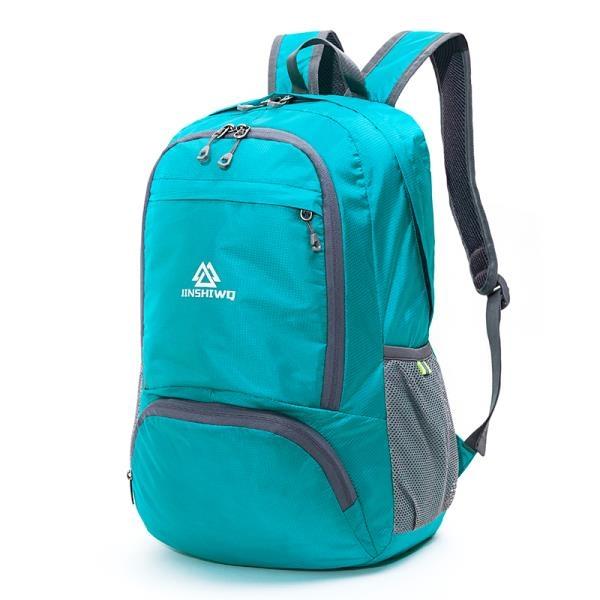 皮膚包超輕可折疊旅行包雙肩戶外背包登山包輕便攜男女時尚百搭
