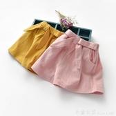 女童短褲夏薄款寶寶2020夏裝童裝短褲子兒童裝韓版百搭外穿休閒褲