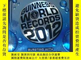 二手書博民逛書店Guinness罕見World Records 2012:bur