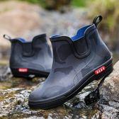 夏季男士水鞋防滑雨靴水靴成人戶外
