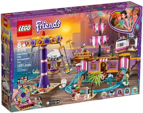 【LEGO樂高】FRIENDS 心湖城休閒碼頭 #41375