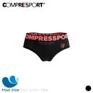 【Compressport 瑞士】女款 無縫線機能運動內褲 CS1-2701-1BK 原價1300元