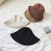 單件春夏隨意折疊卷邊針織復古漁夫帽防曬大檐帽·9號潮人館