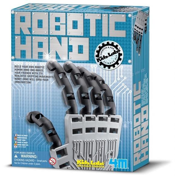 創意機械手 Robotic Hand 做一個機器戰警的手