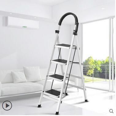2017新款家用便攜折疊加固加厚簡易防滑踏板梯ASD673『時尚玩家』