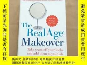 二手書博民逛書店the罕見realage makeover(英文原版 精裝)Y11026 Michael.F.Roizen H