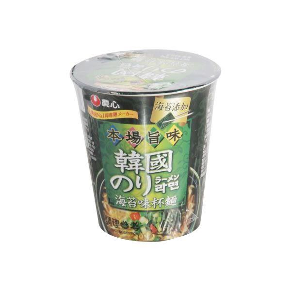 農心海苔杯麵65g