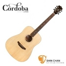 Cordoba 美國品牌 D3 單板民謠吉他 (桶身: D桶身) 附原廠琴袋、PICK×2、移調夾、背帶