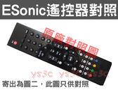 (特殊專用款)Esonic 億碩 液晶電視遙控器 HD-4218 HD-4219 HD-3218 HD-3211 HD-4211 HD-3214