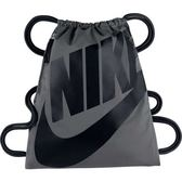 Nike-  大Logo健身背袋(深灰色)