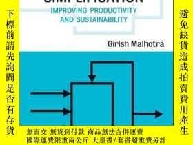 二手書博民逛書店Chemical罕見Process Simplification: Improving Productivity