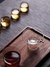 茶道零配創意耐高溫手工玻璃茶漏大口徑茶濾漏斗濾網茶隔『新佰數位屋』
