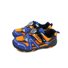 戰鬥陀螺 爆烈世代 BEYBLADE BURST 運動鞋 電燈鞋 藍/橘 中童 童鞋 BEKX95626 no873